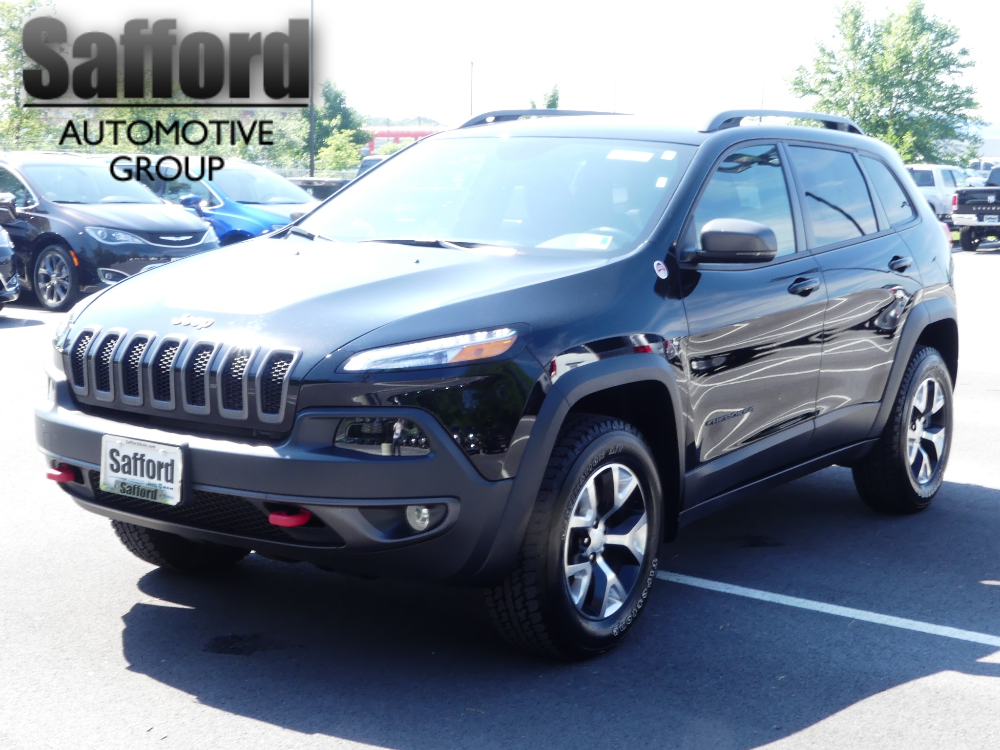 Certified Pre Owned 2018 Jeep Cherokee Trailhawk Sport Utility in
