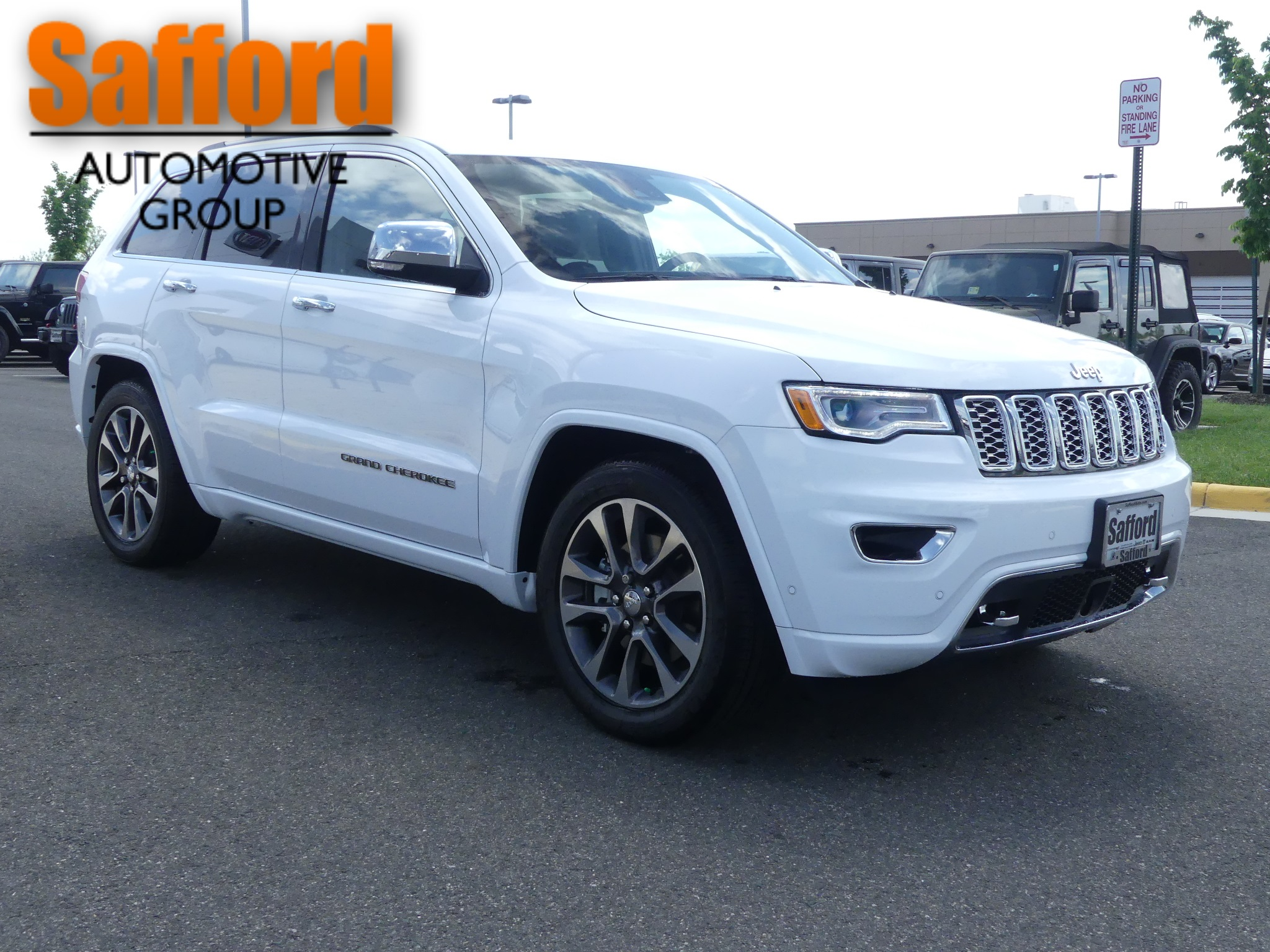 New 2018 JEEP Grand Cherokee Overland Sport Utility in Springfield