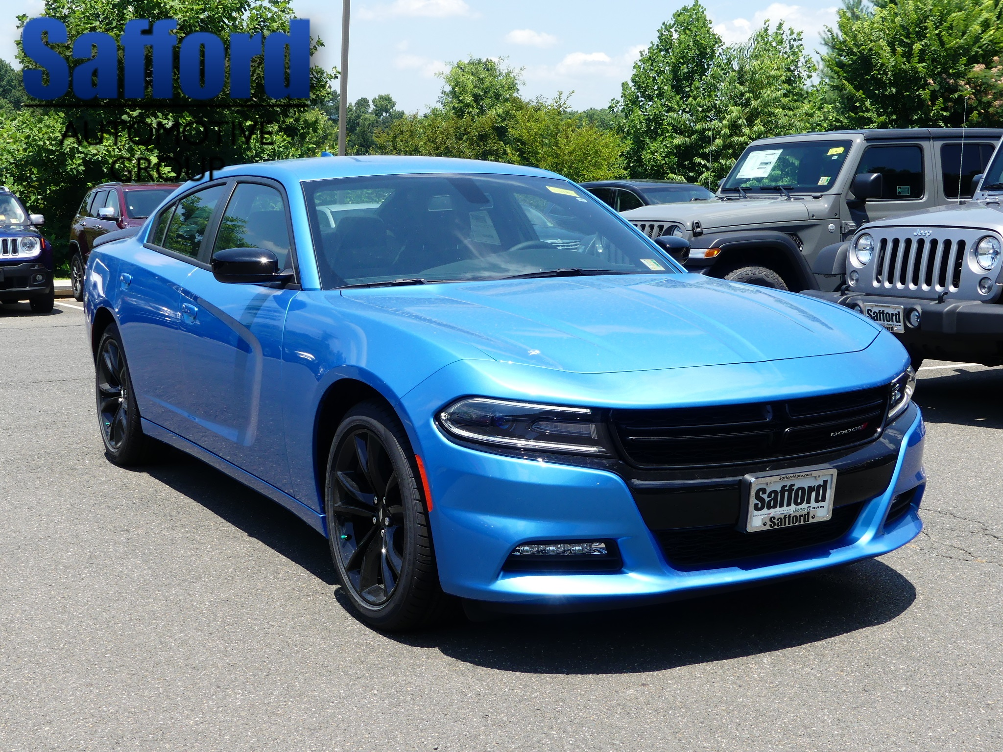 New 2018 DODGE Charger SXT Sedan in Springfield  JH313434  99e787ac7