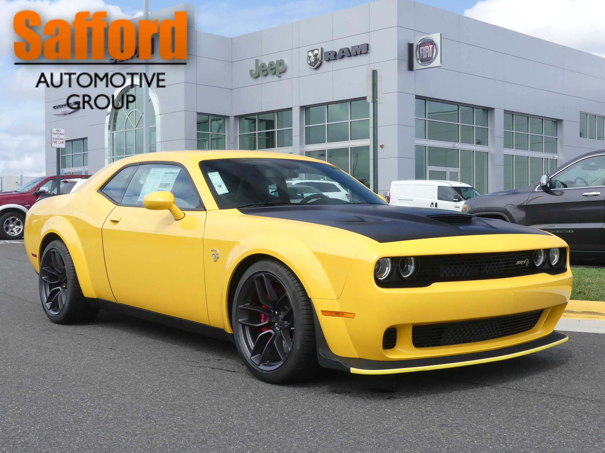 new 2018 dodge challenger srt hellcat widebody coupe in springfield