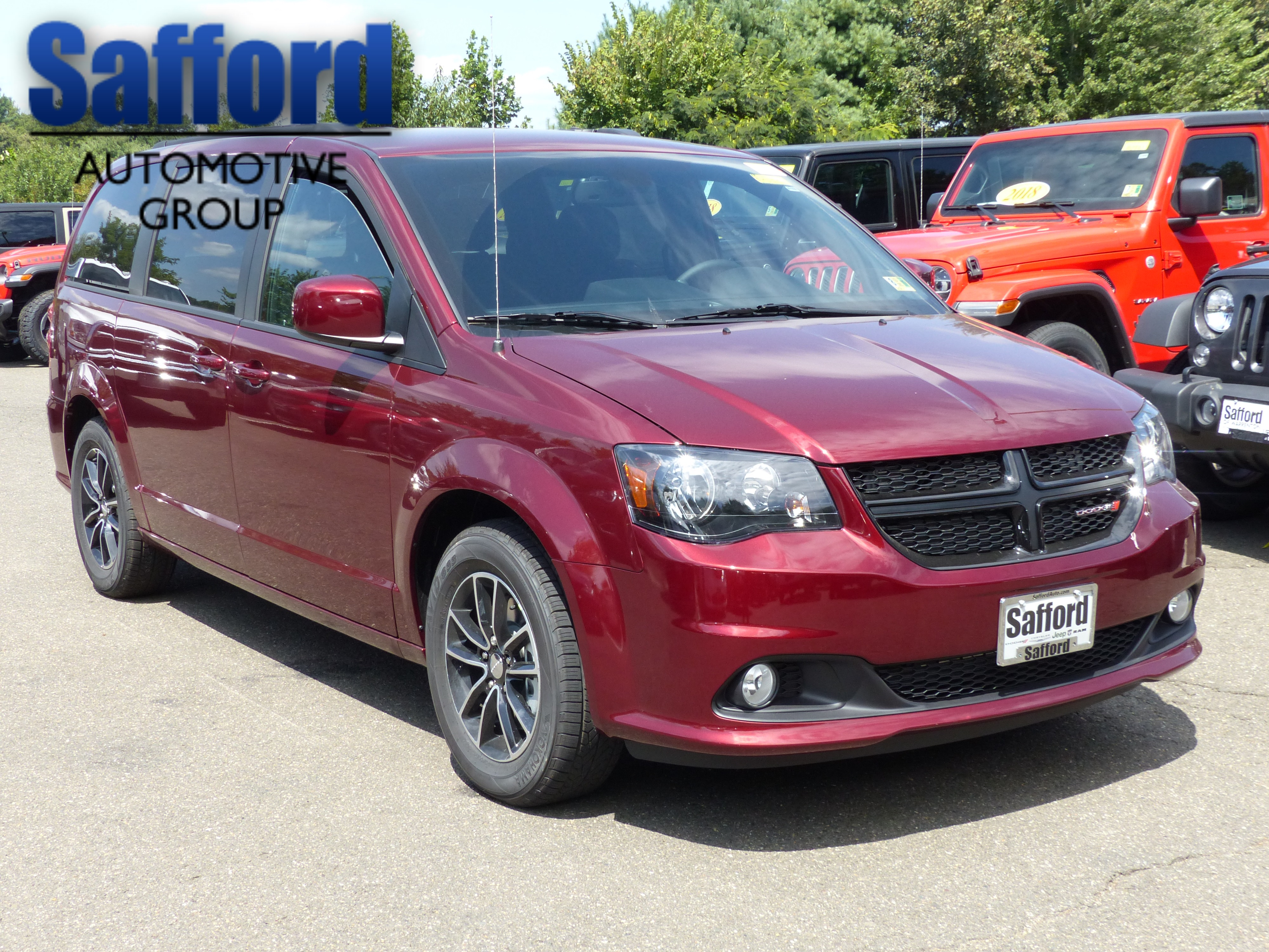 New 2019 Dodge Grand Caravan Se Passenger Van In Springfield